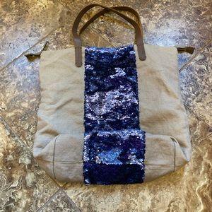 Gap sequined shoulder bag